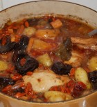 Goji & chicken stew